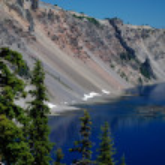 Crater Lake Nationalpark - Oregon, USA — Stock Photo