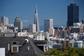 Downtown von San Francisco - USA — Stock Photo