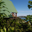 Stock Photo: Blick von der Mango Lodge, Praslin - Seychellen