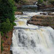 "Wasserfall in ""Ausable Chasm"" - USA — Stock Photo"