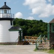 Stock Photo: Leuchtturm in Mystic Seaport, USA