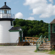 Leuchtturm in Mystic Seaport, USA - Stock Photo