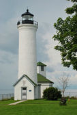 Leuchtturm in Cape Vincent, New York, USA — Stock Photo