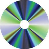 CD disk — Stock Vector