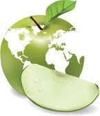 Apple du monde — Vecteur