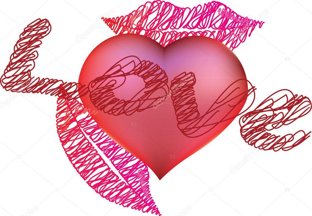 Breathtaking heart vectors pictures