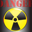 Stock Vector: JapRadioactivity Dangerous