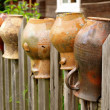 Stock Photo: Old pitchers