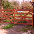 Wooden gate — Stock Photo #5344431