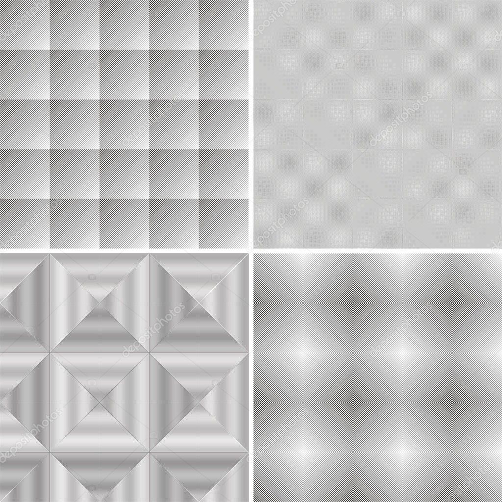 Geometric background, black and gray graphics, vector illustration — Stock Vector #4735301