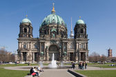 Berliner Dom frontal — Stock Photo