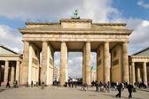 Brandenburger Tor von Westen — Stock Photo