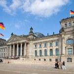 Reichstag von rechts — Stock Photo