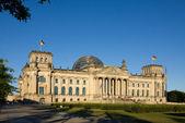 Reichstag am Abend — Stock Photo