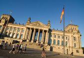 Reichstag schräg — Stock Photo