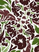Flower ornament background — Stock Vector