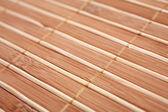 бамбук циновка — Стоковое фото