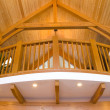 Timber frame detailing - Stock Photo
