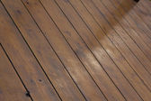 Background of wooden decking — Stock Photo