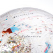 Stock Photo: White Globe