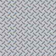 Diamond plate texture gray - blue — Stock Photo