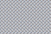 Diamond plate texture gray - blue — Stock Photo