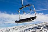 Aerial tramway in Mountain range Serra da Estrela — Stock Photo
