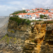 Stock Photo: Seaside village on cliff - Azenhas do Mar, Portugal