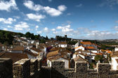 Medieval city Obidos, Portugal — Stock Photo