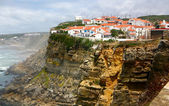 Seaside village on a cliff - Azenhas do Mar, Portugal — Stock Photo