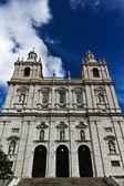 Famous church and monastery Sao Vicente de Fora in Lisbon — Stock Photo