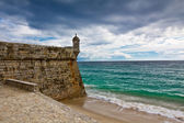 Fortress in Sesimbra, Portugal — Stock Photo