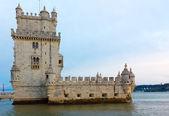 Tower of Belem (Torre de Belem), Lisbon, Portugal — Stock Photo