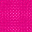Stock Photo: Heart Pattern Background Magenta