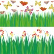 Green grass — Stock Vector #4736945
