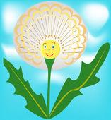 Good dandelion — Vector de stock