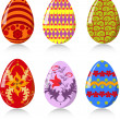 Easter eggs — Stock Vector #4923518