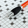 Crossword — Stock Photo