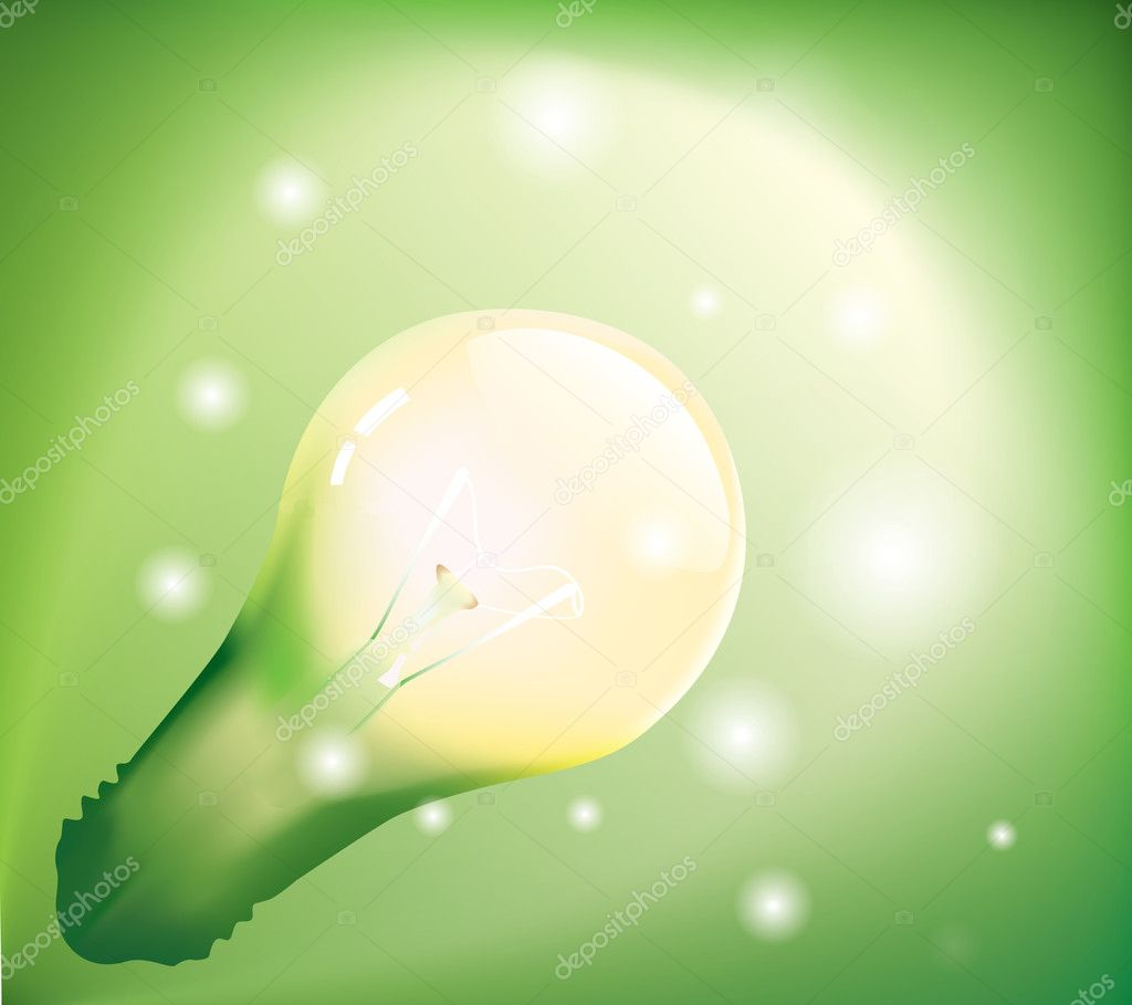 Green Energy Background http://depositphotos.com/4614075/stock-illustration-Green-energy-background.html