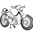 Royalty-Free Stock Vector Image: Motorcicle