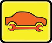 Auto repair icon — Stock Vector