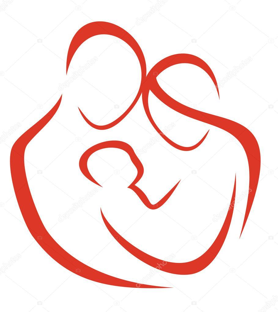 family symbol | 图库矢量图像08 zhanna million