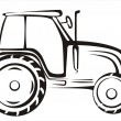 Royalty-Free Stock Vector Image: Tractor symbol