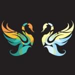 Swan-swan — Stock Vector #5148336