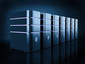 Server farm — Stock Photo