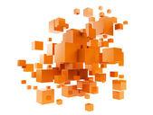 Oarnge cubes — Stock Photo