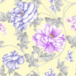 Floral background  pattern - Stock Photo