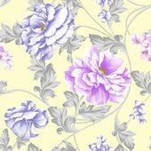 Padrão de fundo floral — Foto Stock