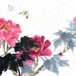 Chinese painting 018 - Stock Photo