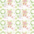 Stock Photo: Seamless pattern 091